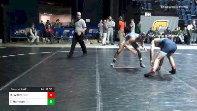 157 lbs Consolation - Hunter Willits, Oregon St. vs Taleb Rahmani, Pittsburgh