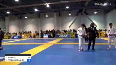 EDUARDO GRANZOT vs ISAIH FRANCESCO CALDERON 2021 American National IBJJF Jiu-Jitsu Championship