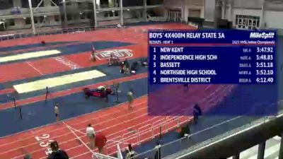 High School Boys' 4x400m Relay Class 3, Finals 2