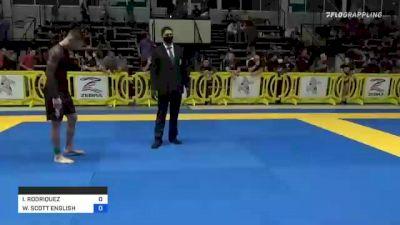 ISAAC RODRIQUEZ vs WILLIAM SCOTT ENGLISH 2021 Pan IBJJF Jiu-Jitsu No-Gi Championship