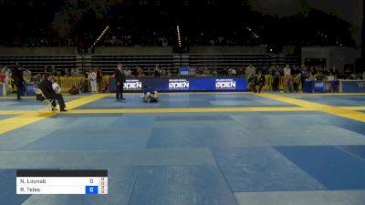 Nisar Loynab vs Rudson Teles 2019 Pan Jiu-Jitsu IBJJF Championship
