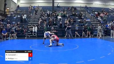109 lbs Quarterfinal - McKayla Campbell, Campbellsville (W) vs Kory Phillips, Southwestern Oregon CC