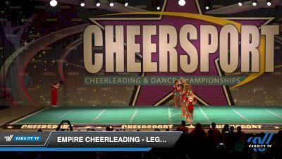 Empire Cheerleading - Legacy Black [2020 Senior Coed Small 3 D2 Day 1] 2020 CHEERSPORT National Cheerleading Championship