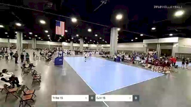 Tribe 15 kim vs CJV 15 lewis - 2021 Capitol Hill Volleyball Classic