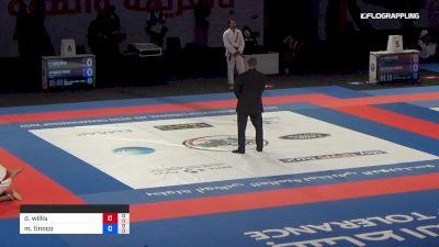 David Willis vs Marcos Tinoco Abu Dhabi World Professional Jiu-Jitsu Championship