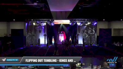 Flipping Out Tumbling - Kings and Queens [2021 L4 Senior Coed - D2 - Small Day 1] 2021 Queen of the Nile: Richmond