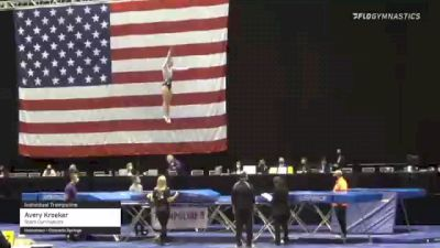 Avery Kroeker - Individual Trampoline, Stars Gymnastics - 2021 USA Gymnastics Championships