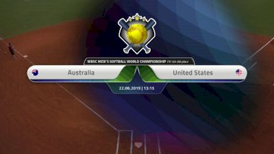 Full Replay - XVI Men's Softball World Championship - Svoboda Ballpark - Jun 22, 2019 at 6:07 AM CDT