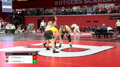 285 lbs Prelims - Parker Robinson, Maryland vs Tony Cassioppi, Iowa