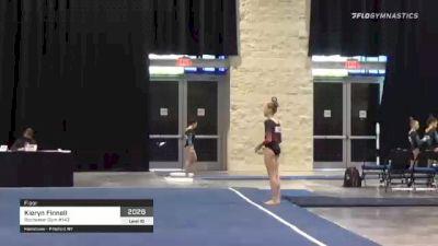 Kieryn Finnell - Floor, Rochester Gym #143 - 2021 USA Gymnastics Development Program National Championships