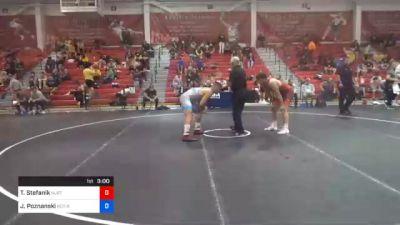 86 kg Prelims - Travis Stefanik, New Jersey RTC vs John Poznanski, Scarlet Knights Wrestling Club