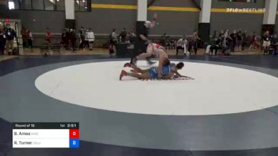 97 kg Prelims - Braxton Amos, Wisconsin Regional Training Center vs Rashawn Turner, Columbus Wrestling Club
