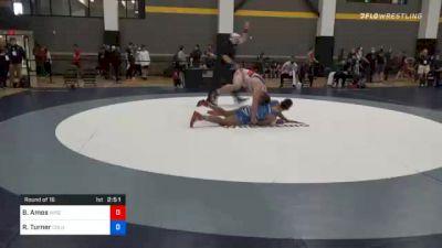 97 kg Prelims - Braxton Amos, Wisconsin Regional Training Center vs Rashawn Turner, Columbus Wrestling Club