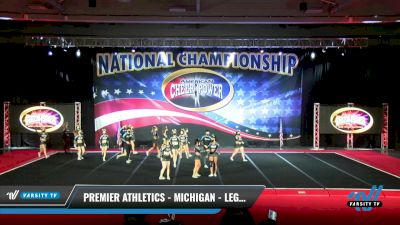 Premier Athletics - Michigan - Legacy [2021 L6 Senior Coed Open - Small Day 2] 2021 ACP: Midwest World Bid National Championship