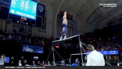 Savannah Schoenherr - Bars, Florida - 2019 NCAA Gymnastics Regional Championships - Oregon State