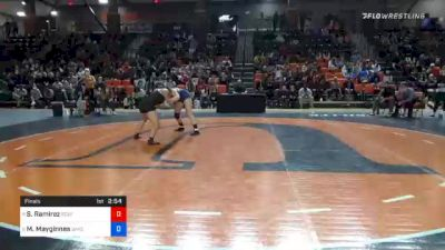 155 lbs Final - Sienna Ramirez, Southern Oregon vs Morgan Mayginnes, Baker