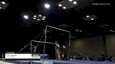 Lilly Lippeatt - Bars, Cincinnati Gym - 2021 Winter Cup & Elite Team Cup