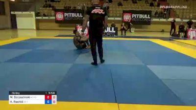 Mateusz Szczecinski vs Hejraat Rashid 1st ADCC European, Middle East & African Trial 2021