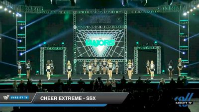 Cheer Extreme - Raleigh - SSX [2020 L6 Small All Girl] 2020 The MAJORS