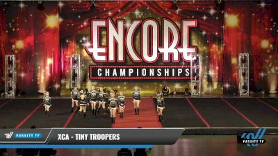 XCA - Tiny Troopers [2021 L1 Tiny - D2 Day 1] 2021 Encore Championships: Pittsburgh Area DI & DII