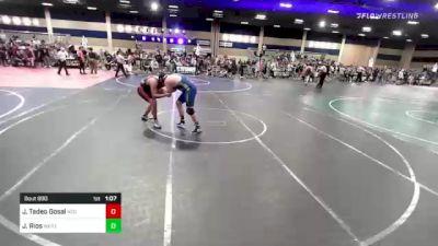220 lbs Round Of 16 - Jayden Tadeo Gosal, Ncg vs Jacob Rios, West Hills Hawks