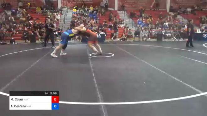 125 kg Consolation - Matthew Cover, New Jersey RTC vs Aaron Costello, Hawkeye Wrestling Club