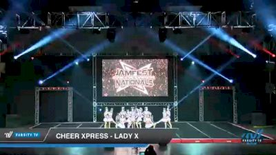 Cheer Xpress - LADY X [2021 L6 Senior - Small Day 1] 2021 JAMfest Cheer Super Nationals