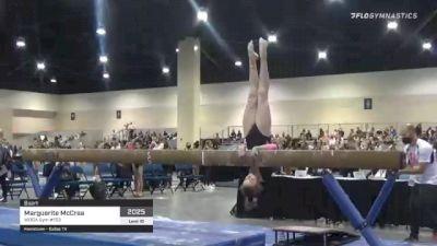 Marguerite McCrea - Beam, WOGA Gym #153 - 2021 USA Gymnastics Development Program National Championships