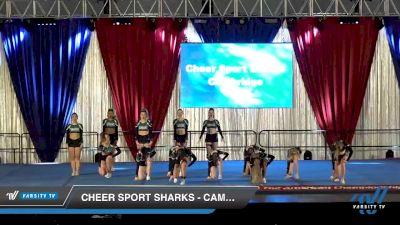 Cheer Sport Sharks - Cambridge - Hawaiian Sharks [2020 L4 Senior - Small Day 2] 2020 The American Majestic DI & DII