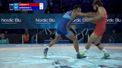 60 kg 1/4 Final - Victor Ciobanu, Moldova vs Stepan Maryanyan, Russian Wrestling Federation