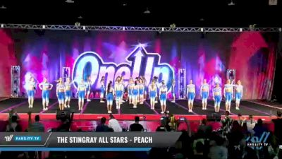 The Stingray Allstars - Marietta - Peach [2021 L6 Senior - Medium Day 2] 2021 One Up National Championship