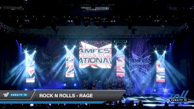 Rock N Rolls - Rage [2020 L2 Junior - D2 - Medium Day 2] 2020 JAMfest Cheer Super Nationals