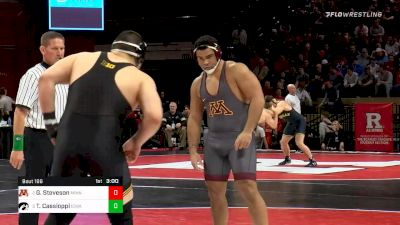 285 lbs Semifinal - Gable Steveson, Minnesota vs Tony Cassioppi, Iowa