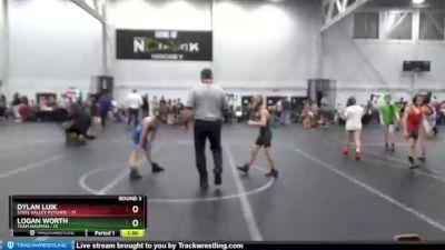 68 lbs Round 3 (4 Team) - Logan Worth, Team Nauman vs Dylan Luik, Steel Valley Psychos