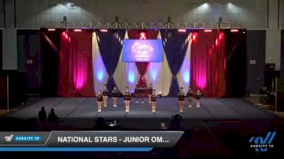 National Stars - Junior Omega [2021 L1 Junior - Novice Day 1] 2021 The American Royale DI & DII