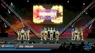 ICE - Solar [2020 L6 International Open - NT - Coed Day 2] 2020 GLCC: The Showdown Grand Nationals