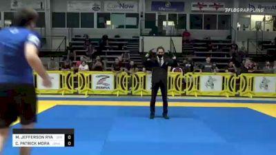 MARK JEFFERSON RYAN vs CHRISTOPHER PATRICK MORAN II 2021 Pan IBJJF Jiu-Jitsu No-Gi Championship