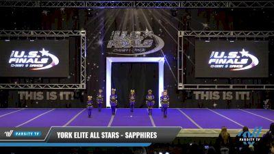 York Elite All Stars - Sapphires [2021 L1.1 Tiny - PREP Day 1] 2021 The U.S. Finals: Ocean City