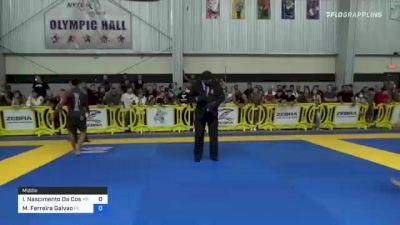 Igor Nascimento Da Costa vs Micael Ferreira Galvao 2021 Pan IBJJF Jiu-Jitsu No-Gi Championship