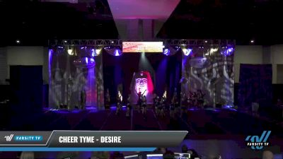 Cheer Tyme - Desire [2021 L4 Senior Coed - D2 - Small Day 2] 2021 Queen of the Nile: Richmond