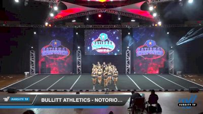 Bullitt Athletics - NOTORIOUS [2019 Senior Coed Open - Small 6 Day 2] 2019 America's Best National Championship