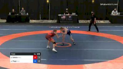 62 kg Final - Julia Salata, Team Miracle vs Jennifer Page, Team Hildebrandt