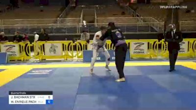 JEFFREY BACHMAN STRAIN vs WALDO ENRIQUE PACHECO 2020 World Master IBJJF Jiu-Jitsu Championship