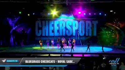 Bluegrass Cheercats - Royal Sabers [2021 L5 Senior Coed - D2 - Small Day 1] 2021 CHEERSPORT National Cheerleading Championship