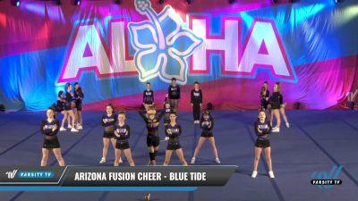 Arizona Fusion Cheer - Blue Tide [2021 L3 Junior - D2 - Small - B Day 1] 2021 Aloha DI & DII Championships