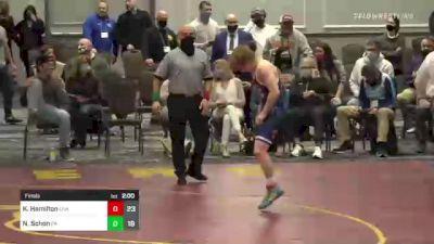 285 lbs Final - Kyonte Hamilton, USA vs Nate Schon, PA
