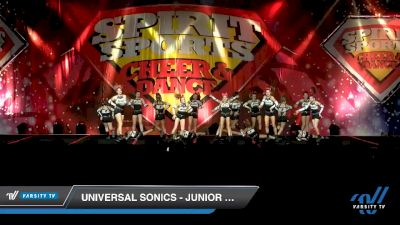 Universal Sonics - Junior Glam Squad [2020 L1 Junior - D2 - B Day 2] 2020 Spirit Sports: Duel In The Desert