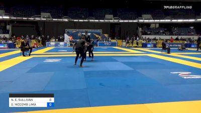 NICOLE C. SULLIVAN vs GABRIELLE MCCOMB LIMA 2019 World IBJJF Jiu-Jitsu No-Gi Championship