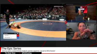 Jenna Burkert Breaks Down Epic Series With Jacarra Winchester