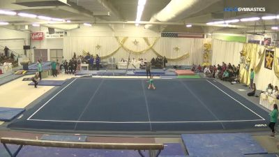 Katie Leary - Floor, Parkettes Gym - 2018 Parkettes Invitational
